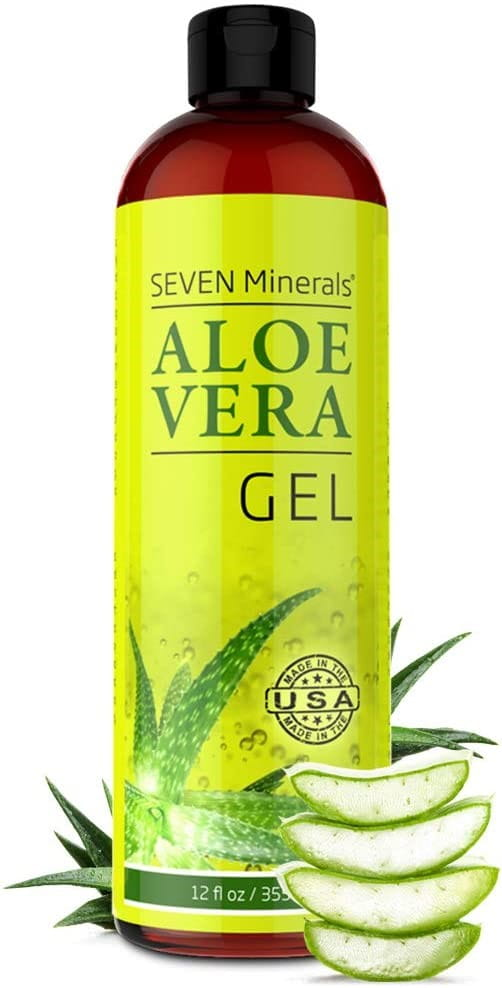 Gel hidratante & after sun con aloe vera puro
